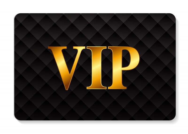 VIP v kasínach